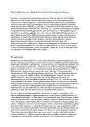 Emil Bock und der Nationalsozialismus - Die Egoisten
