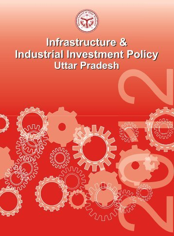 Infrastructure & Industrial Investment Policy - Indian Industries ...