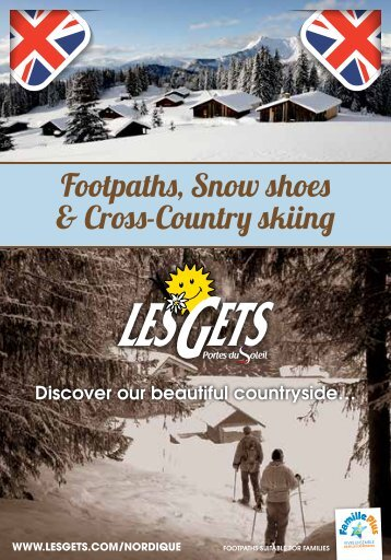 Footpaths, Snow shoes & Cross-Country skiing - Les Gets