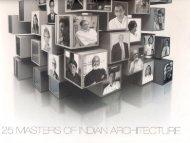 2011 25 Masters of Indian Architecture - Morphogenesis