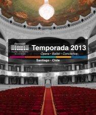 Temporada 2013 - Teatro Municipal de Santiago de Chile