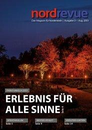 Das Magazin für Norderstedt | Ausgabe 3 • Aug. 2013 - nordrevue