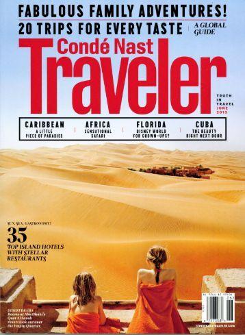 Conde Nast Traveler - Botswana Tourism Organization