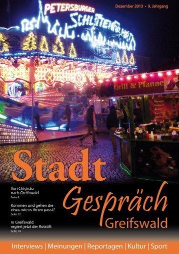 Greifswald - Stadtgespräch