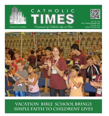 July 28, 2013 - Diocese of Columbus
