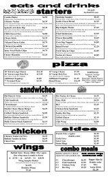 FFEC menu snack bar 10-3-12.pub