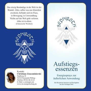 Beschreibung der Anwendungsbereiche (PDF ... - christiane-zen.de