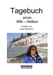 Tagebuch - bei ............... Reiner u. Ilona Meihofer