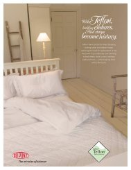 Bedding Sellsheet - DuPont