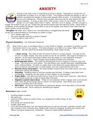 ANXIETY - DBT Self Help