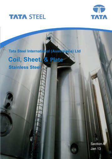 Coil, Sheet, and Plate - Tata Steel International (Australasia) Ltd