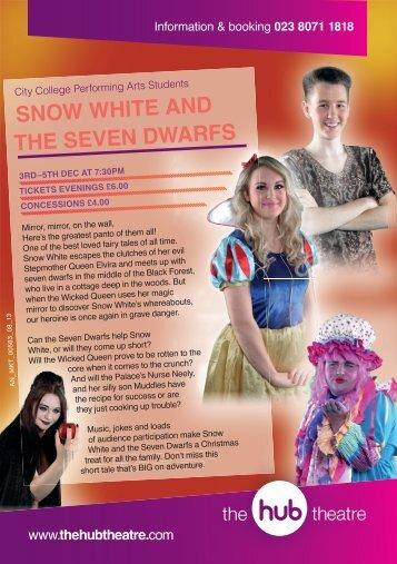 snow white and the seven dwarfs - Southampton City College