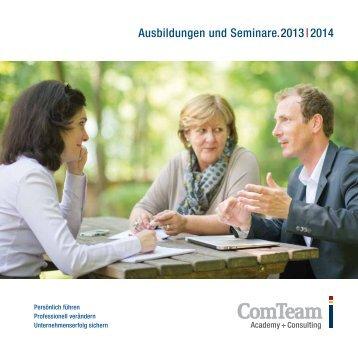 Programm 2013/2014 - ComTeam Gruppe