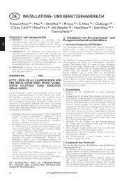 installations- und benutzerhandbuch de - Global Water Solutions