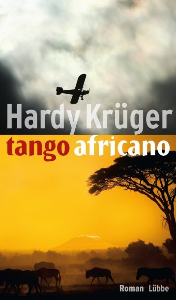"""tango africano"" Leseprobe"