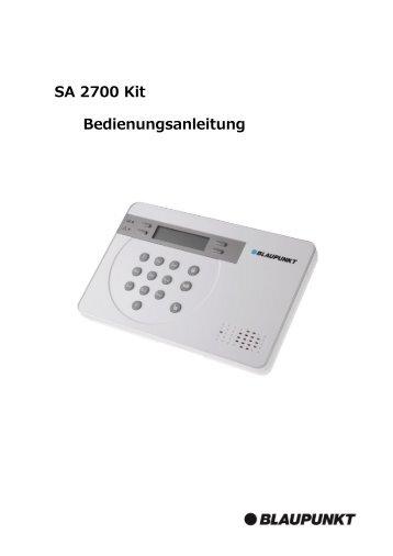 Handbuch SA 2700 - Blaupunkt