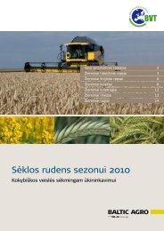 Rudens katalogas - Baltic Agro
