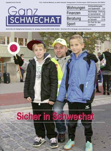 Oktober-November Ausgabe 2013 - Stadtgemeinde Schwechat