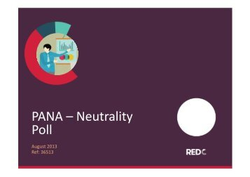 PANA – Neutrality Poll - Shannonwatch