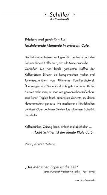 Speisekarte anzeigen - Uhlmanns