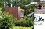 Zürich Das Haus des Scouts - Graser Architekten AG