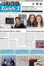 Eva Germann lädt ins «Zälti» - Lokalinfo AG