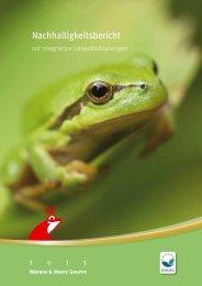 Werner & Mertz Nachhaltigkeitsbericht 2013 - Business and ...