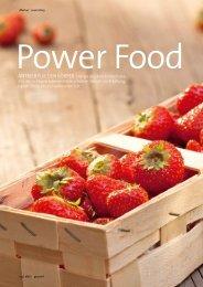 Power Food - der gesamte Artikel aus dem