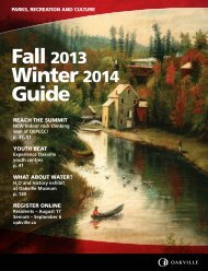 View and print a pdf version of the guide - Oakville