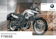 F700GS - F800-Forum.de - F 800 GS - F 800 R