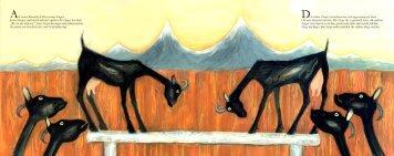 ie beiden Ziegen versuchten nun, sich gegenseitig ... - Patricia Thoma