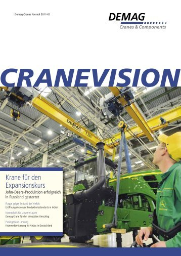 Ausgabe 01 - 2011 (3,1 MB - PDF) - Demag Cranes & Components