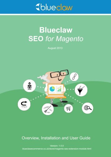 Userguide - Blueclaw Ecommerce