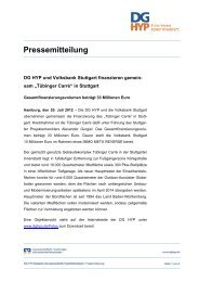 Pressemitteilung - DG Hyp