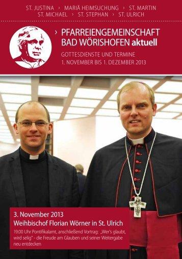 PFARREIENGEMEINSCHAFT BAD WÖRISHOFEN aktuell - St. Justina