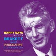 festival brochure - Happy Days — ENNISKILLEN INTERNATIONAL ...