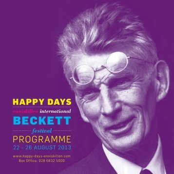 festival brochure - Happy Days — ENNISKILLEN INTERNATIONAL ...