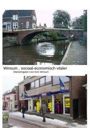 Winsum , sociaal-economisch vitaler - Besluitvorming gemeente ...