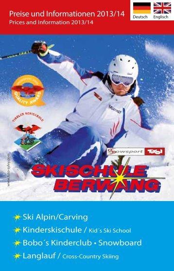 Folder download - Skischule Berwang