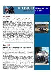 Berichte & Touren aus 2007 - Blue Knights Germany 11