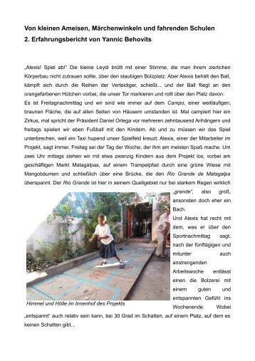 Yannic Behovits 2. Bericht - WordPress – www.wordpress.com