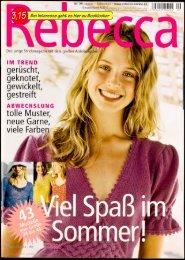 Zeitschrift Rebecca Nr. 29.2005