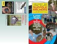 Club Brochure - Suffolk Archers