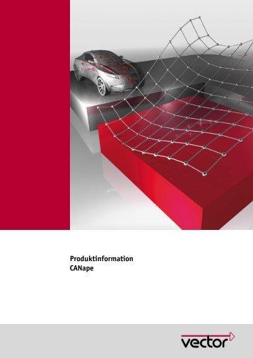 Produktinformation CANape - Vector