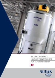 NILFISK-CFM 3997 – HOCHLEISTUNGSSAUGER FÜR SCHWERE ...
