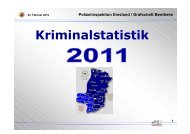 Kriminalstatistik 2011 - Polizeiinspektion Emsland/Grafschaft Bentheim