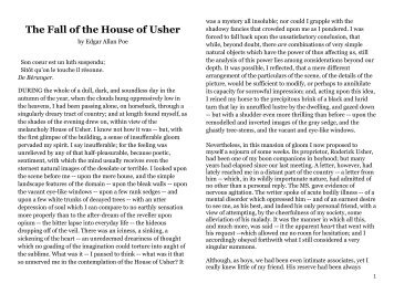 The Fall of the House of Usher - Billings Public Schools