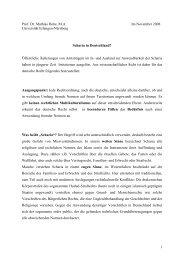 Scharia in Deutschland - Lehrstuhl für Bürgerliches Recht ...