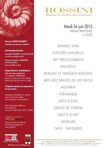 marchandet vte 26 06 2012 - Vente Art Deco