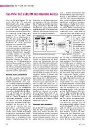 SSL-VPN: Die Zukunft des Remote Access